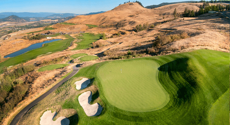Tower Ranch Golf & Country Club - Hole #3. Kelowna, BC
