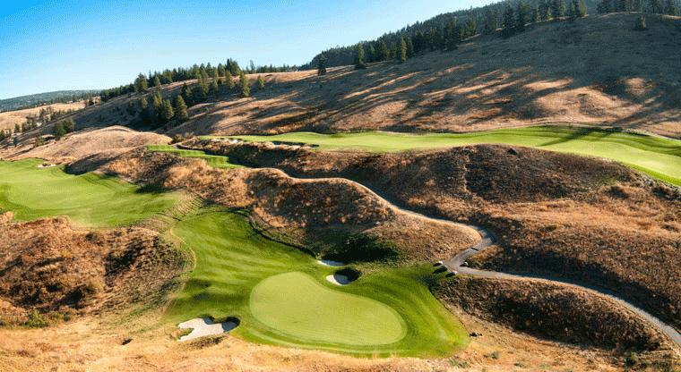 Tower Ranch Golf & Country Club - Hole #4. Kelowna, BC