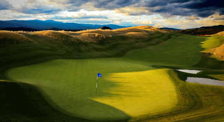 Tower Ranch Golf & Country Club - Hole #9. Kelowna, BC