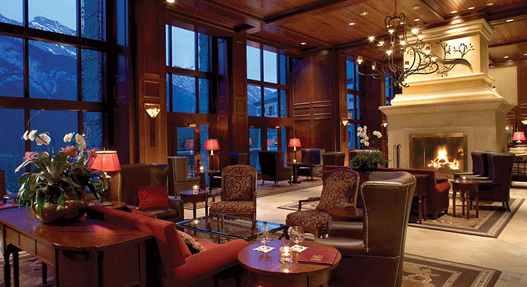Rim Rock Resort - Lobby. Banff, AB