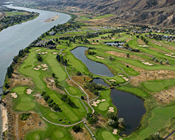 Rivershore Golf Links - Aerial