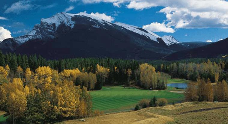 Stewart Creek Golf Club in Banff, Alberta