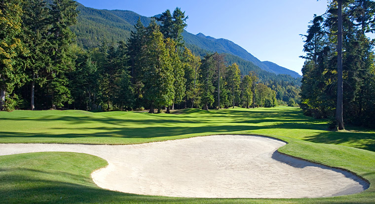 Furry Creek Golf & Country Club - Hole 17. Vancouver, BC