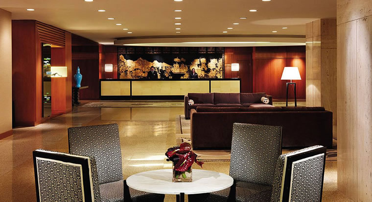 Four Seasons Vancouver - Lobby. Vancouver, BC
