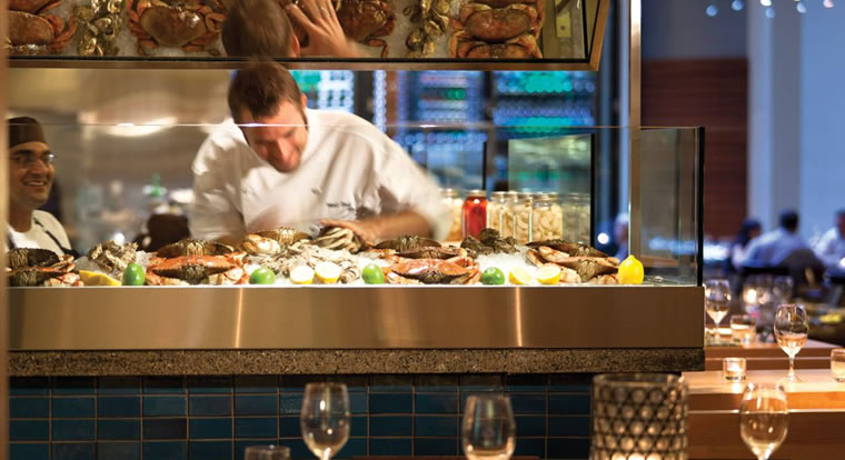 Four Seasons Vancouver - Yew Restaurant. Vancouver, BC