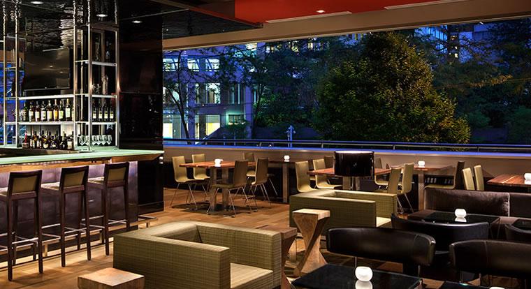 Hyatt Regency Vancouver - Bar. Vancouver, BC