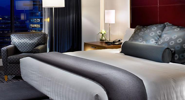 Hyatt Regency Vancouver - Bedroom. Vancouver, BC
