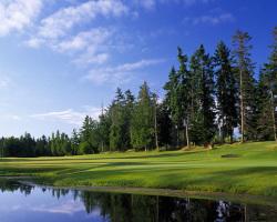 Arbutus Ridge Golf Club - Hole #10. Mill Bay, BC