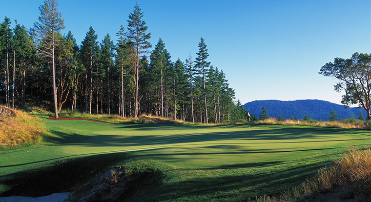 Bear Mountain Golf Resort - Mountain Course - Hole #4. Victoria, BC