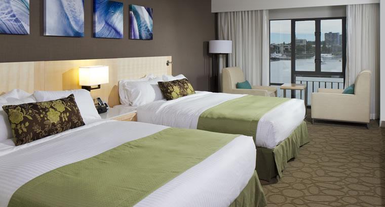 The Delta Ocean Point Hotel Resort & Spa - Qu Double. Victoria, BC