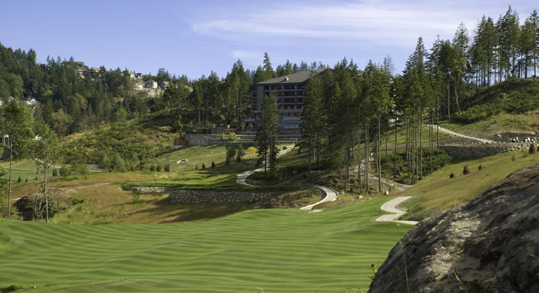 Westin Bear Mountain Golf Resort & Spa - Course View. Victoria, BC