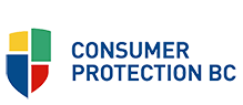 Proud member of Consumer Protection BC